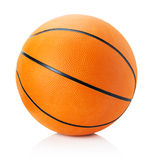 Basketball isolated on a white background Stock Images