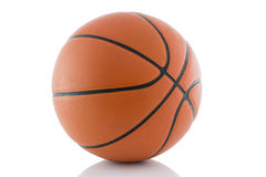 Basketball isolated on a white background royalty free stock photos