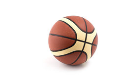 Basketball isolated on white Royalty Free Stock Image