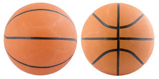 Basketball isolated. On a white background as a sports and fitness Stock Images