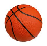 Basketball isolated on a white background with clipping path royalty free stock photo