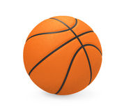 Basketball Isolated. On white background. 3D render Stock Photos