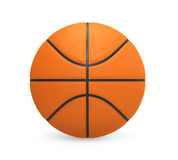 Basketball Isolated. On white background. 3D render Royalty Free Stock Images