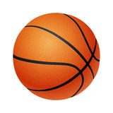 Basketball isolated on a white background Stock Photo