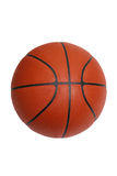 Basketball isolated on white with clipping path. An official size basketball isolated on a white background with a clipping path Royalty Free Stock Photos