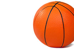 Basketball isolated on white Stock Images