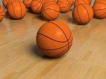 Basketball item Royalty Free Stock Photography