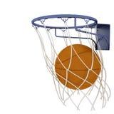 Basketball items Stock Image