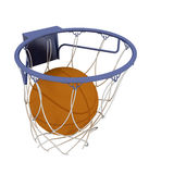 Basketball items Royalty Free Stock Photography