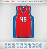 Basketball Jersey Royalty Free Stock Images