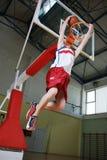 Basketball jump Stock Photo