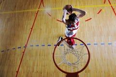 Basketball jump Stock Photography