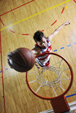 Basketball jump Stock Images