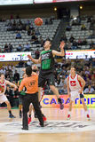 Basketball jump Royalty Free Stock Image