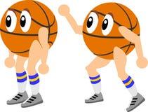 Basketball-Karikatur Lizenzfreies Stockbild