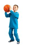 Basketball kid Royalty Free Stock Photo