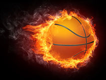 Basketball-Kugel Lizenzfreies Stockbild