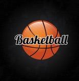 Basketball label Stock Photos