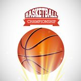 Basketball league design Royalty Free Stock Images