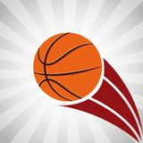 Basketball league design Royalty Free Stock Image
