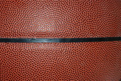 Basketball leather texture Stock Photography