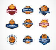 Basketball logo, emblem, icons collections, vector templates. Basketball logo, emblem, icons collections - vector design templates vector illustration