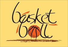 Basketball logo.eps. Ready made basketball vector logo / special font Royalty Free Stock Image