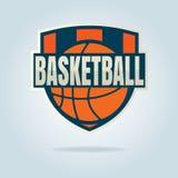Basketball logo template Stock Image