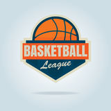 Basketball logo template Royalty Free Stock Images