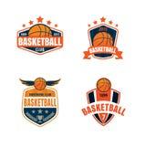 Basketball logo template Stock Photography