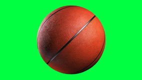 Basketball, loop seamless, alpha channel. Rotation on a transparent background, the ability to impose without cutting any footage stock footage