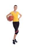 Basketball-Mädchen Lizenzfreie Stockbilder