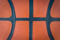 Basketball macro texture Stock Photo