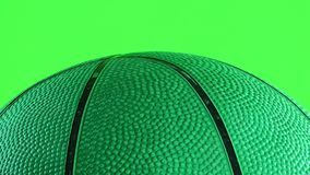 Basketball Macro View. Game Sport Concept stock video
