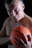 Basketball man Stock Photo