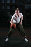 Basketball man Royalty Free Stock Images