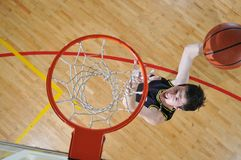 Basketball man Stock Images