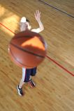 Basketball man Royalty Free Stock Photography