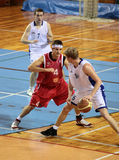 BASKETBALL MATCH Royalty Free Stock Image
