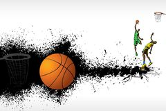 Basketball Match Royalty Free Stock Photography