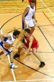 Basketball match Stock Photo