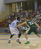 Basketball match, Cup Andalucia 2012 Stock Images