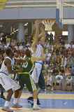 Basketball match, Cup Andalucia 2012 Royalty Free Stock Photo