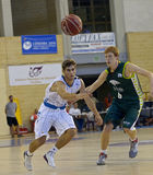 Basketball match, Cup Andalucia 2012 Royalty Free Stock Image