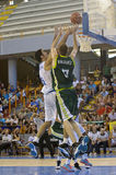 Basketball match, Cup Andalucia 2012 Royalty Free Stock Images