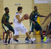 Basketball match, Cup Andalucia 2012 Royalty Free Stock Photography