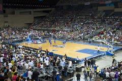 Basketball match Royalty Free Stock Photography