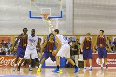 Basketball match Stock Photos