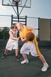 Basketball matchup Stock Photos