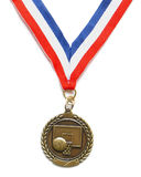 Basketball medal Royalty Free Stock Photography